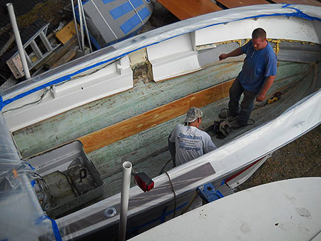 Boat Stringer Repair and Replacement