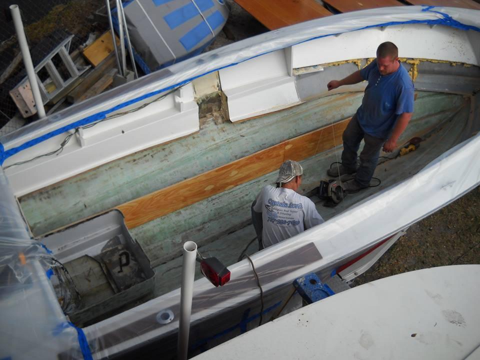 Composite Boat Stringers : Fiberglass boat stringer repair and replacement at